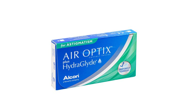 Air Optix for Astigmatism plus Hydraglyde